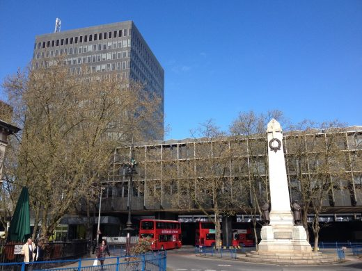 Euston Station Building London