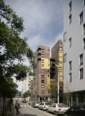 Massena Social Housing Paris Building