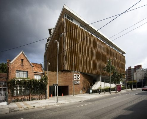 Bogotá Chamber of Commerce building in Colombia