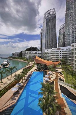 Reflections at Keppel Bay design by Daniel Libeskind Architects