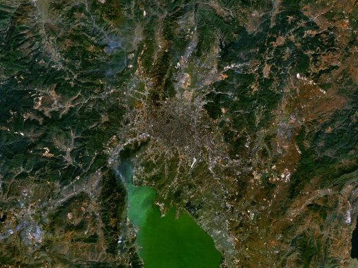 Location for Twin Cities Kunming, Yunnan Province, China