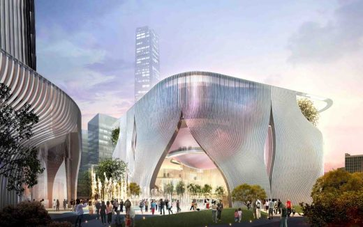 Xiqu Centre West Kowloon by Ronald Lu and Partners