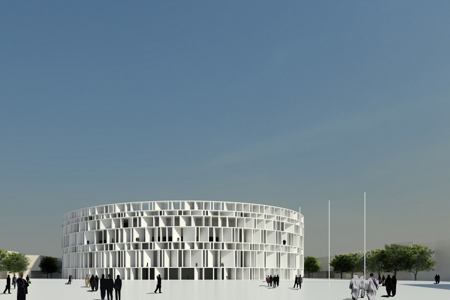 New Iraqi Parliament Complex, Building Design