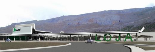 Loja High Speed Railway Station: Granada Building