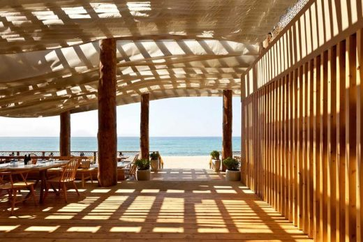 Barbouni Beach Restaurant, Costa Navarino