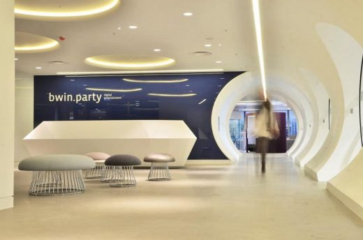 new bwin.party HQ by Ranne Creative Interiors