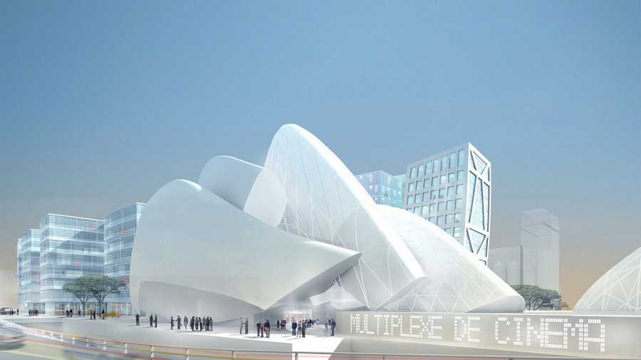 Euromed Center Marseille building design