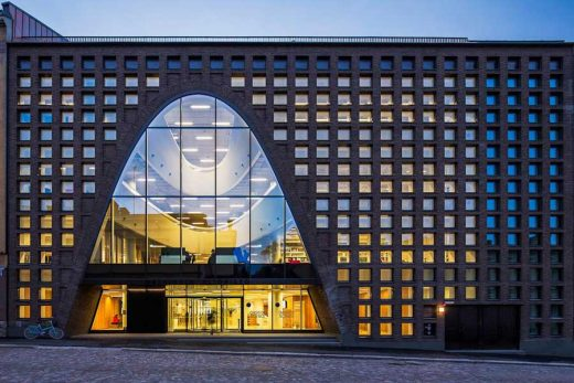 University of Helsinki City Campus Library by aoa