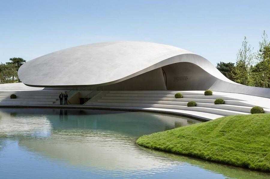 Porsche Pavilion Wolfsburg building