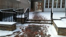 Stairs and Ramps snow USA Disability Access Design
