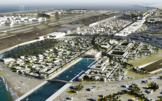 HIA Airport City Doha Development by OMA