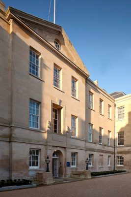 Radcliffe Humanities Building University of Oxford facade