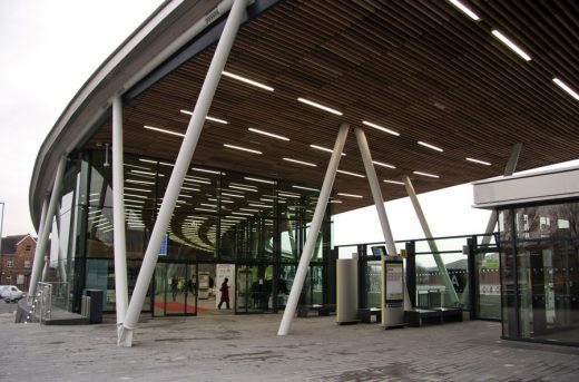 Stoke-on-Trent Bus Station building