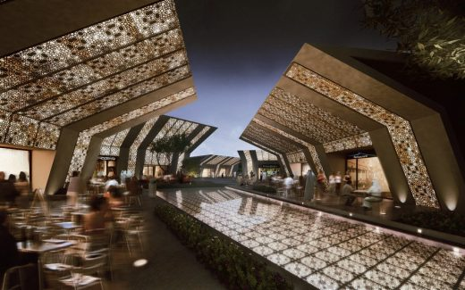 The Valley City Qatar Masterplan design by MZ Architects