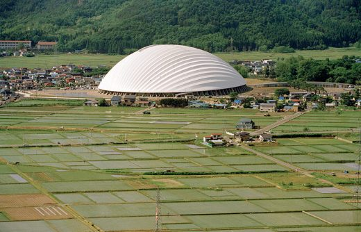 Dome in Odate, Japan architecture in Akita by Toyo Ito