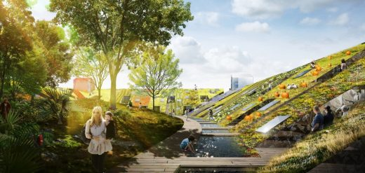 Urban Village Competition in Christchurch design by ZOTOV&CO