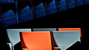 Array Auditorium Seating : Furniture by Zaha Hadid