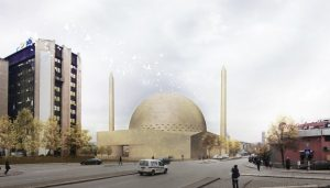 Grand Mosque of Prishtina Kosovo building design