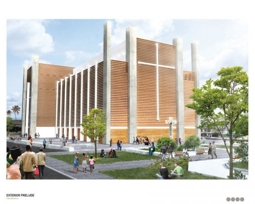 Haiti Cathedral Competition Port-au-Prince building design