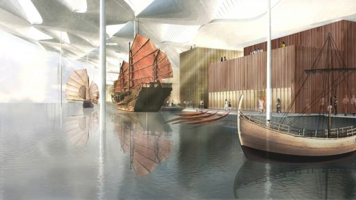 National Maritime Museum in Tianjin design entry
