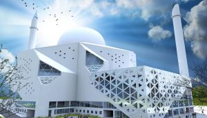 Prishtina Central Mosque Competition Kosovo design