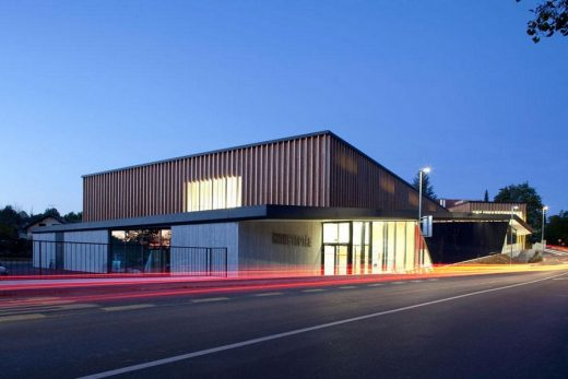 Stopice Sports Hall - Slovenia Building