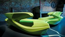 Zephyr Sofa Zaha Hadid Furniture