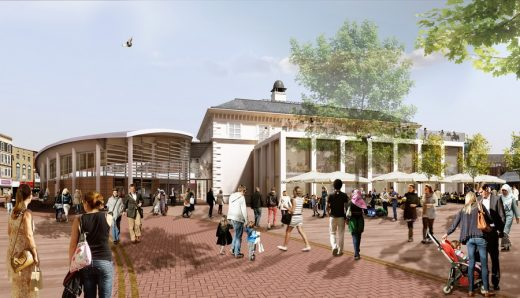 Leicester Market building design in the city