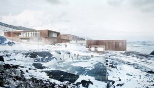 Ny Anstalt in Nuuk Greenland correctional facility building