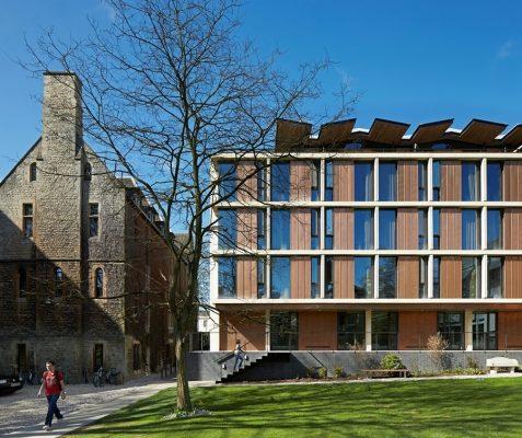 St Antony's College Oxford Building
