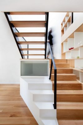 Chambord Residence, Quebec stairs interior design