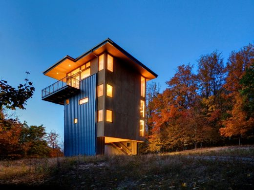 Glen Lake Tower Michigan Residence