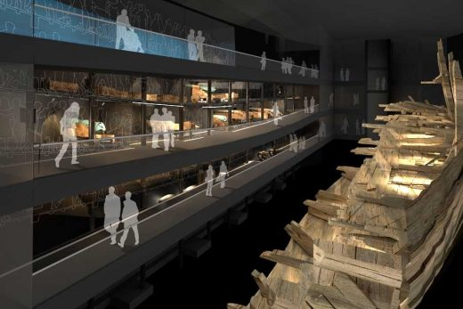 Mary Rose Museum Portsmouth building design