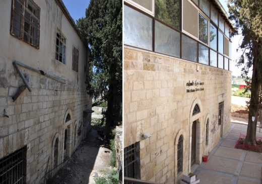 Birzeit Historic Centre Palestine buildings design by Riwaq