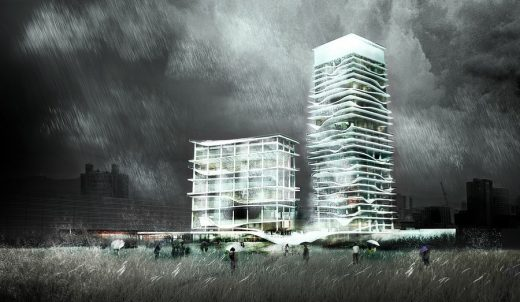 City Cultural Center Taichung design by KAMJZ, Architects