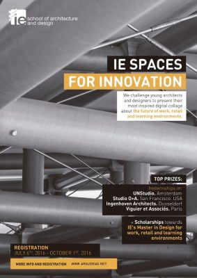 IE SPACES FOR INNOVATION PRIZE 2016