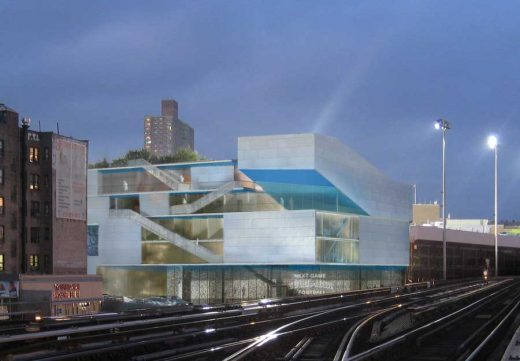 Campbell Sports Center, Columbia University Building design