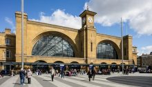 London King's Cross Station public realm renewal