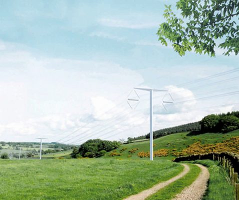 Pylon for the FutureDesign UK, British Electricity Infrastructure