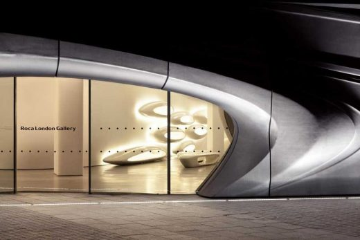 Roca London Gallery Zaha Hadid design