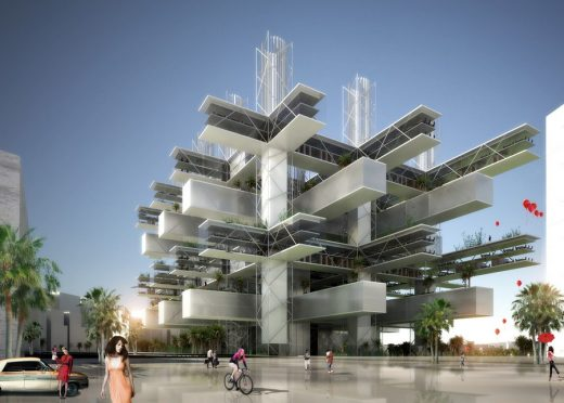 Taichung City Cultural Center Competition Entry by Sane Architecture