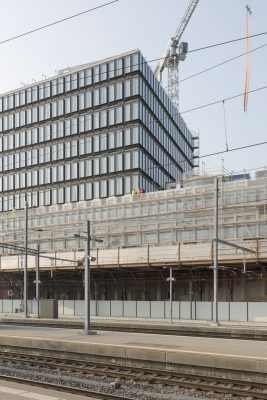 Europaallee 'Site D' in Zürich building construction