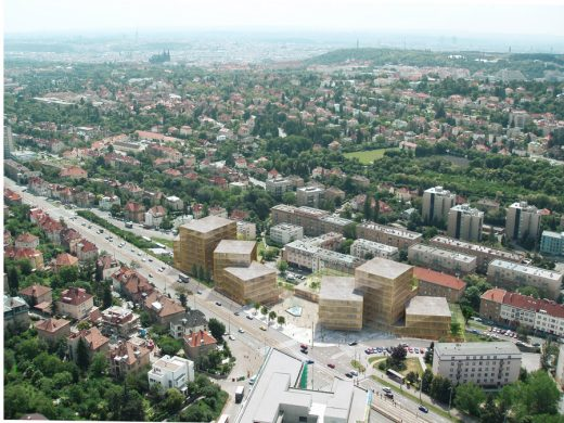 Red Hill Rise Prague Mixed-use Building