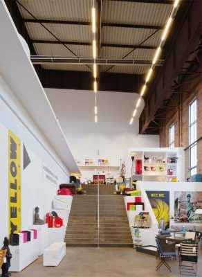 RS+Yellow Furniture Outlet Hannover by BOLLES+WILSON