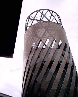 The Lowry in Salford building tower