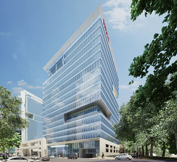 615 South College In Charlotte Office Tower E Architect