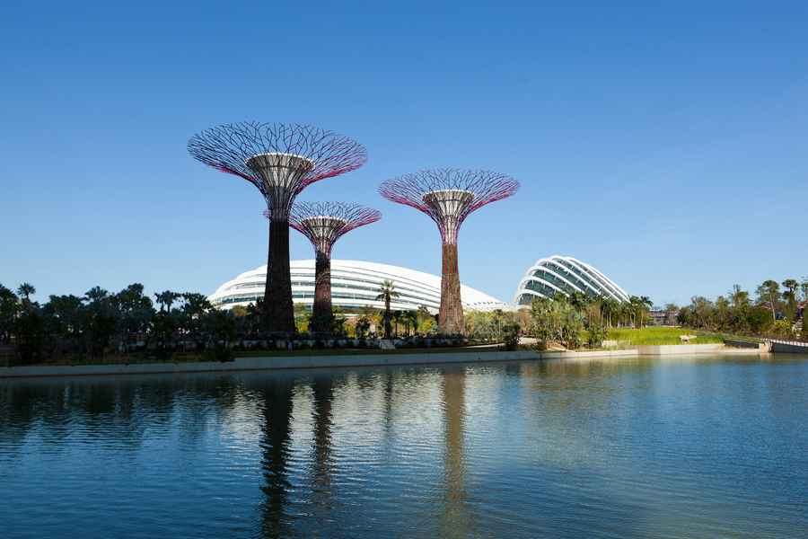 Gardens By The Bay Conservatories Singapore E Architect