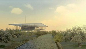 SNFCC Athens Building by Renzo Piano