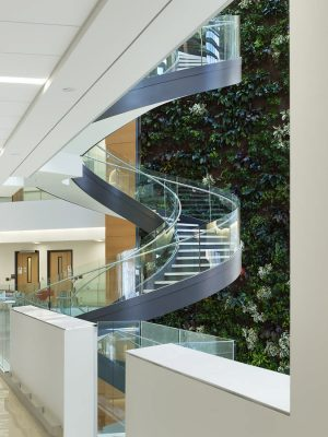 Papadakis Integrated Sciences Building at Drexel University in Philadelphia interior