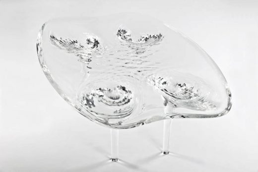 Liquid Glacial Table: Furniture by Zaha Hadid